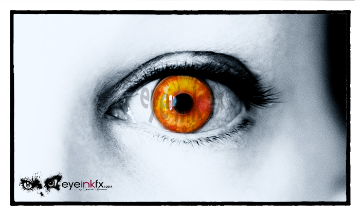 Custom Contact Lenses, Eye Ink FX