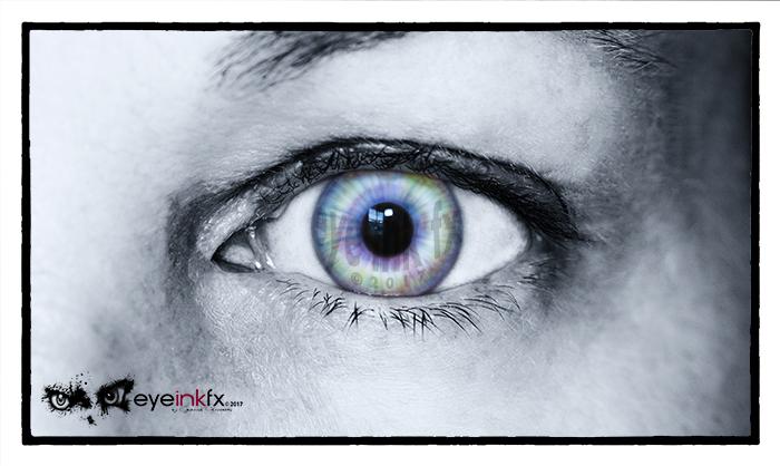 Custom Contact Lenses, Eye Ink FX